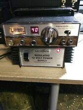 Vintage Realistic Cb radio & Power Supply