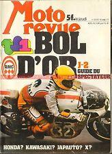 MOTO REVUE 2331 SUZUKI GS 550 MONTESA 123 247 Cota Raid Pyramides BOL d'OR 1977