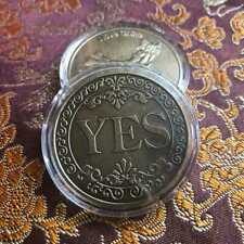New Yes or No Lucky Decision Coin Bronze Commemorative Coin Retro Collection