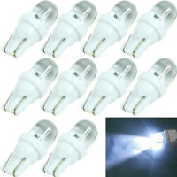 10Pcs DC 12V 5W T10 194 168 158 W5W 501 White LED Side Car Wedge Bulb Light Lamp