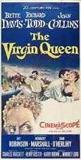 THE VIRGIN QUEEN Movie POSTER 20x40 Bette Davis Richard Todd Joan Collins