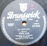1950's 78 RPM X 4 lot -the four aces-a woman in love/sluefoot-israeli pressings