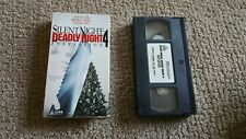 Silent Night Deadly Night 4 VHS Horror Slasher Rare