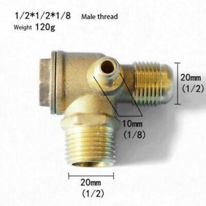 Zubehör Rückschlag ventil Teile Ersatz Luftkompressor 3-Port Außengewinde