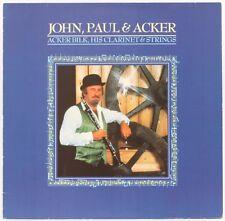 JOHN, PAUL & ACKER  ACKER BILK HIS CLARINET & STRINGS Vinyl Reco