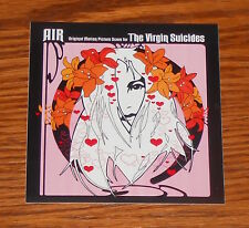 Air The Virgin Suicides Sticker Square Promo 3.5x3.5