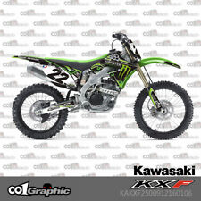 GRAPHICS DECALS STICKERS FULL KIT FOR KAWASAKI KX250F KXF250 2009-2012