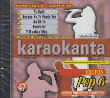 Chayanne Thalia Arjona Luis Miguel Exitos Pop 6 Karaokanta Karaoke Nuevo Sealed