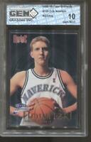 1998-99 Dirk Nowitzki Fleer Brilliants #109 Gem Mint 10 RC Dallas Mavericks