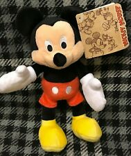 "Mickey Mouse 7"" Soft Toy - 90 Years - Red Shorts Mickey - Disney"