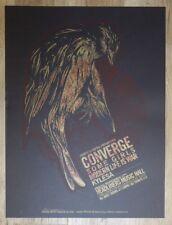 2006 Converge w/ Kylesa - Louisville Silkscreen Concert Poster S/N by AngryBlue