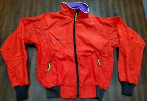 Vintage Trek Cycling Full Zip Jacket Adult Small Red