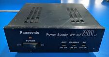 PANASONIC WV-MF200-2 POWER SUPPLY FOR CCD VIDEO CAMERA 100V 50-60HZ 9W