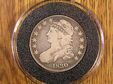 1830 BUST HALF DOLLAR * Full Liberty * AirTite Holder