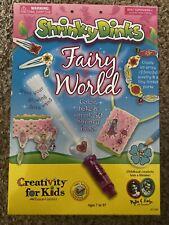 Shrinky Dinks jewelry making Fairy World set