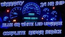 2003-2006 HUMMER H2 INSTRUMENT CLUSTER FULL REPAIR SERVICE GAUGES/LED UPGRADE