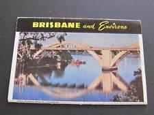 Capt Frank Hurley Photographs Brisbane & Environs Queensland Souvenir Folder