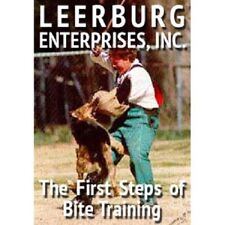 1st Steps of Bite Training DVD by Leerburg