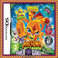 Moshi Monsters Katsuma Unleashed (Nintendo NDS DS lite Dsi XL) Brand New