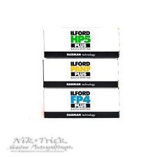 Ilford 120 Film Bundle - FP4, HP5, PanF - Fresh UK Stock