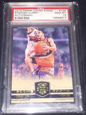 09/10 Panini Court Kings Stephen Curry Rookie Auto Psa 10 Gem Mint #205/649 Rare