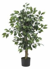 Nearly Natural 5298 Ficus Silk Tree- 3-Feet- Green NEW