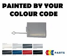 MERCEDES MB E CLASS W211 FRONT BUMPER TOW HOOK COVER PAINTED BY YOUR COLOUR CODE