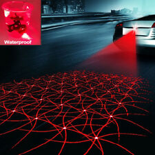 Car Cool Pattern Anti-Collision Rear End Tail Fog Driving Red Laser Caution Lamp