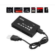 LC_ EG _ NERO muti-card LETTORE ADATTATORE ALL IN 1 USB 2.0 CF XD SD MINI TF MS