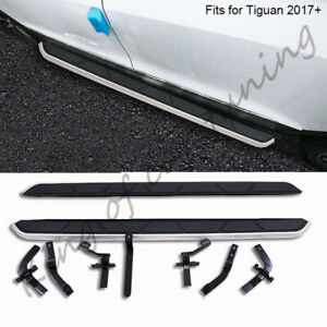 Fits for Volkswagen V.W Tiguan 2017-2020 side step nerf bar protect pedals 2PCS