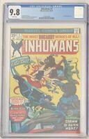 (1975) THE INHUMANS #1 CGC 9.8! WP!