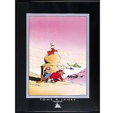 Affiche, Spirou et Fantasio : Tibet   60 x 80 cm