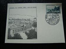 FRANCE - carte 8/3/1952 journee du timbre aix-les-bains  (cy10) (A)