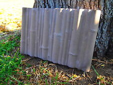 Stepping Stone Mold Bamboo Edging Border Mold ABS Plastic Concrete Cement New