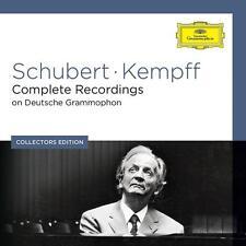 Franz schubert/Kempff-COMPLETE recordings coleectors Ed. - Box-set CD NEUF