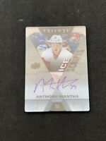2016-17 UPPER DECK TRILOGY ANTHONY MANTHA ICE SCRIPTS AUTO ACETATE #IS-AM