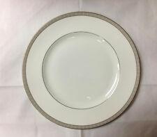 Wedgwood Bone China Caernarvon Dinner Plate 11in. Black//Gold