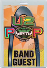 U2 1997 Popmart Tour Laminated Backstage Pass Bono