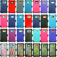 For Samsung Galaxy S6 Camo Case Cover (Belt Clip fits Otterbox Defender series)
