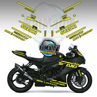 WINTER TEST STYLE NEON GRAPHICS LIVERY TO FIT SUZUKI GSXR - RACE TRACK STICKERS