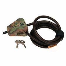 Master Lock Camo Python Cable For Moultrie Covert Trail Cams and Camlock Boxes
