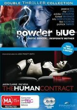 Double Thriller Collection Powder Blue / The Human Contract DVD PAL Region 4