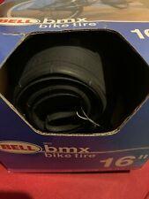 "16"" Black Bike & Bicycle BMX Tire"