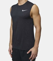 Nike Men/'s Hyper Dri-Fit Breathe Training TankTop SIZE XXL Light Grey 832825-100