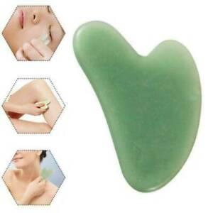 Natural Guasha Facial Jade Face Body Gua Sha Board Massager Care Scraper Board