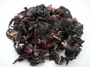 Hibiscus Dried Flowers Loose Herb Premium Quality 300g-2kg - Hibiscus Sabdariffa