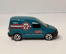 Matchbox 2007 VW Caddy DSC Green Mobile Vehicle Services Van 1:62