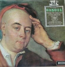 ACADEMY OF ST.MARTIN-IN-THE-FIELDS - NEVILLE MARRINER - HANDEL - LP