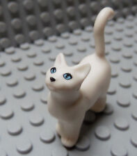 Lego Animal White Cat Standing Belville/Scala Pet with Blue Eyes 3110 5805 5941
