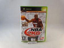 NBA 2K6 2006 BASKET - MICROSOFT XBOX PRIMO MODELLO - PAL ITA ITALIANO COMPLETO
